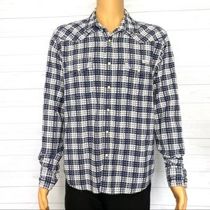 Lucky Brand Snap Button Classic Fit Shirt